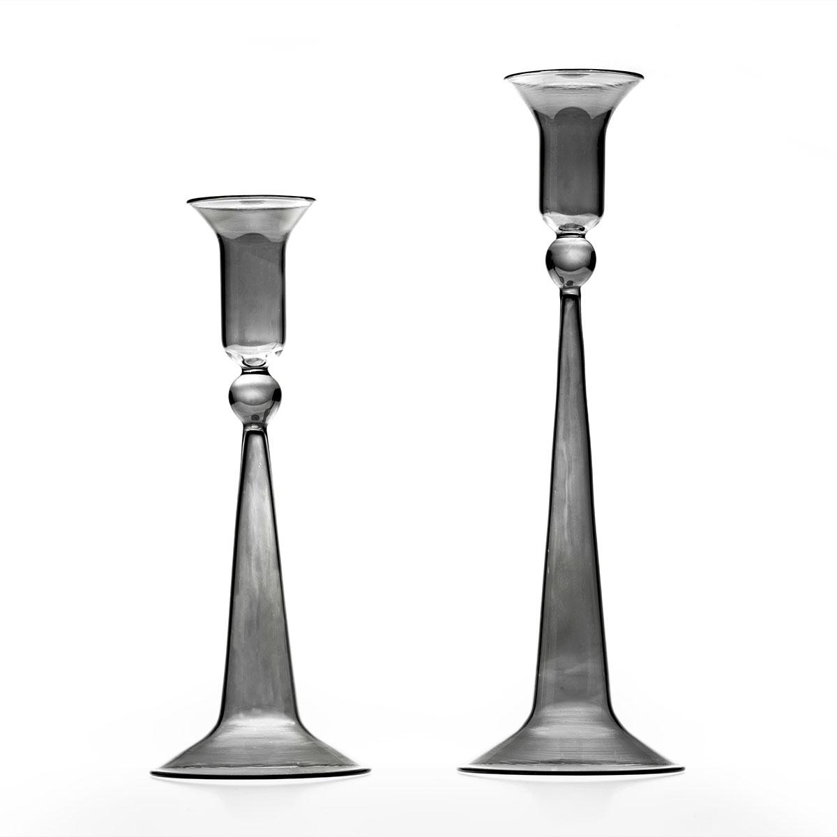 Classic gray candleholder C27