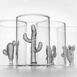 Cactus Set of 4 Glasses C69