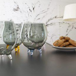 bicchieri firenze con piedini