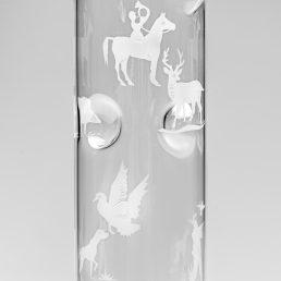 Set of 6 Engraved Hunt glasses CEgH