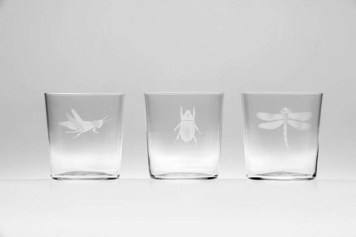 Engraved Insect Jug CEjI