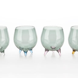 Set of 4 Firenze water glasses C131