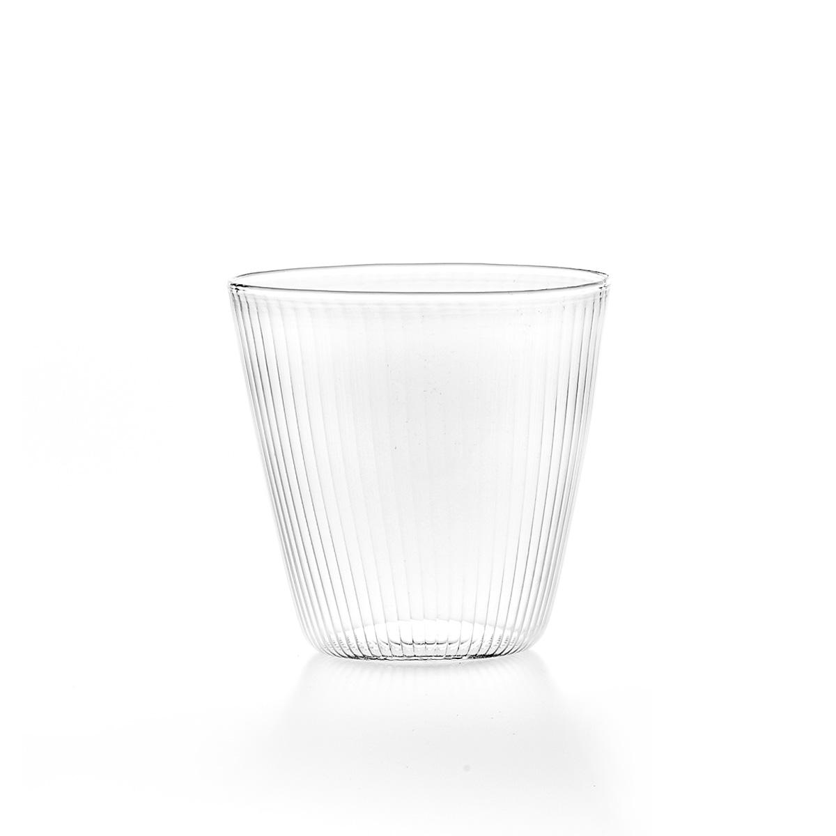 Set of 6 Stripes Water Glasses C3