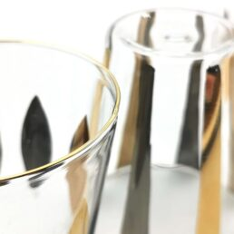 Set of 4 Circus Glasses C150