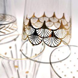 Set of 6 Africa Glam glasses C151