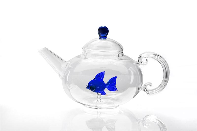 casarialto c153 fish teapot blue 1