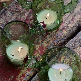 3 lumini cactus vista dal alto