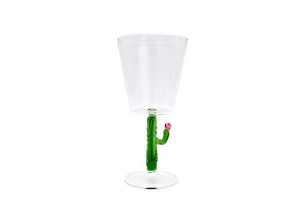 casarialto c159 green cactus mania wine glass green