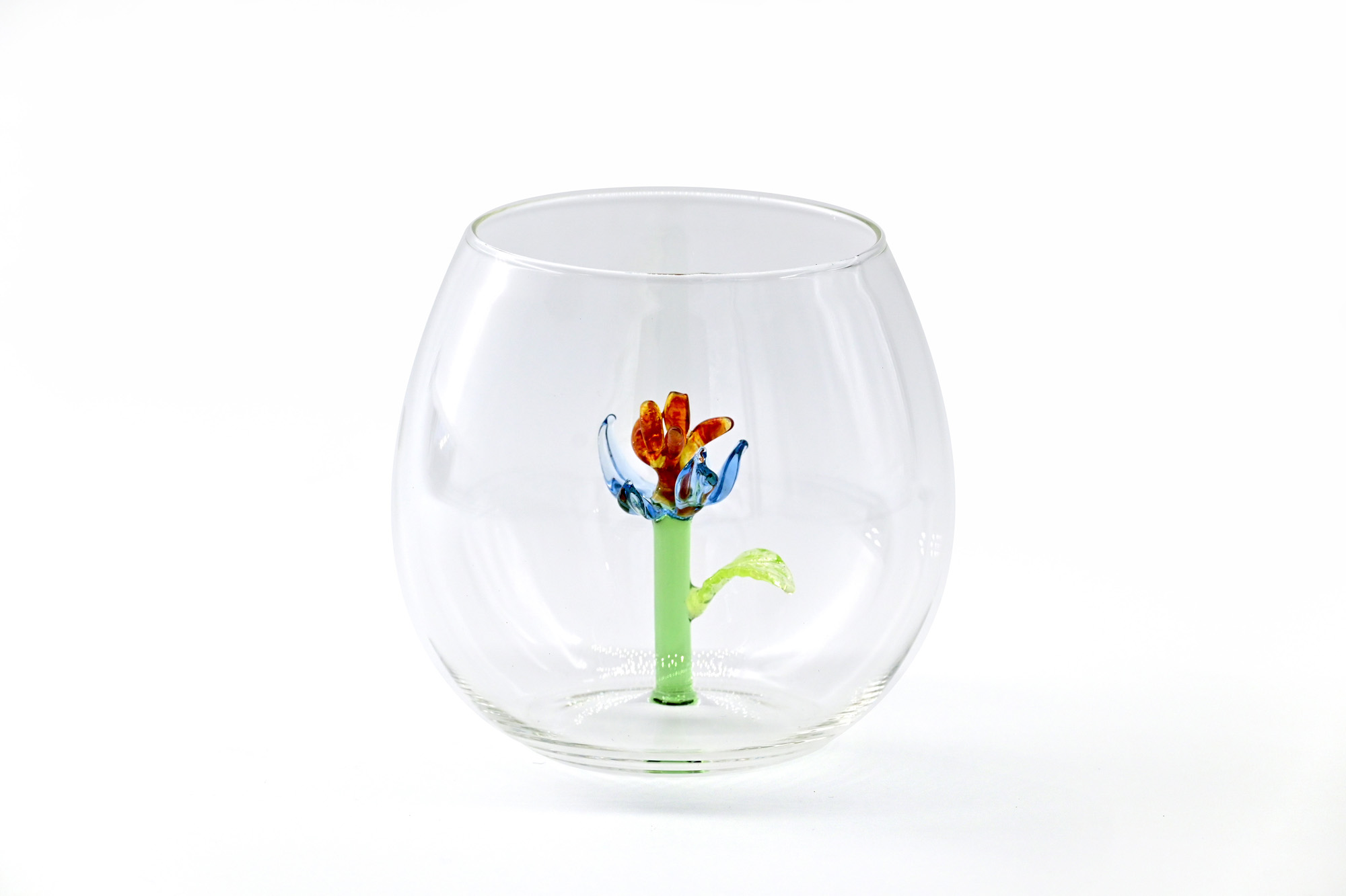 casarialto c160 rb flower power glass red and blue 1