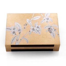 Casarialto Atelier Federica Dei Rossi FDRb2 Bee in a golden sky box