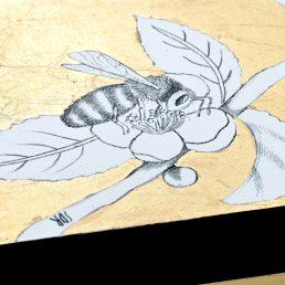 Casarialto Atelier Federica Dei Rossi FDRb2 Bee in a golden sky box 5